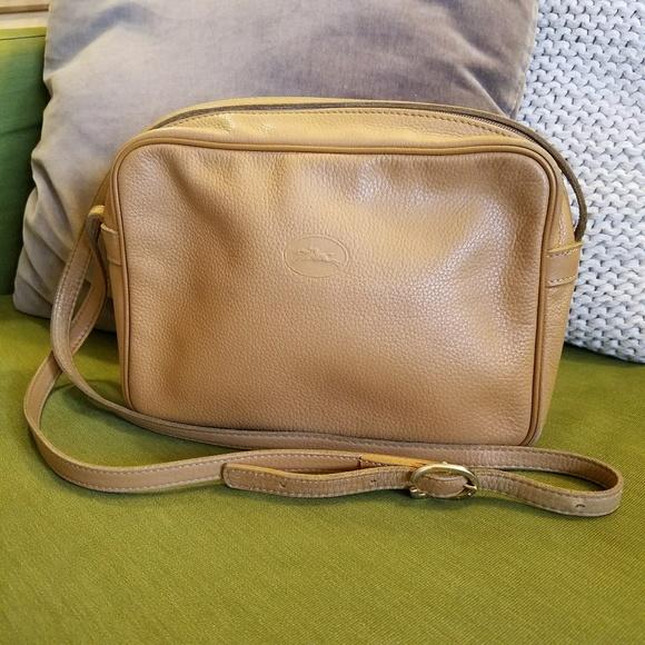 7c259d41e2 Longchamp Handbags - Vintage Longchamp Crossbody Bag